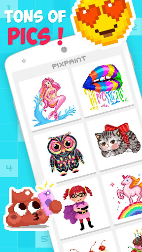 PixPaint - Color By Number 1.3 screenshots 1