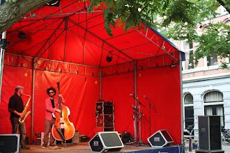 Photo: Adan Mizrahi / Lucas Malec contrabas, tenorsaxofoon - jazz