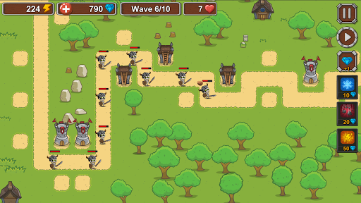 Tower Defense - Skeleton army screenshot 6