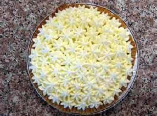 Vanilla Cream Pie Recipe