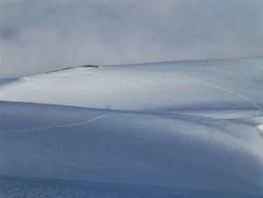 Photo: Traces depuis le sommet Phillipsfjellet