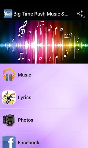 android Big Time Rush Music & Lyrics Screenshot 0
