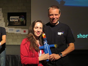 Photo: With Christer & Camilla! Very first time I have met a European Space Agency (ESA) astronaut :)