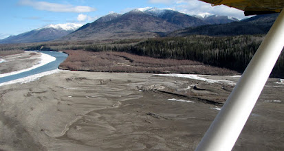 Photo: Finlay River, just north of Williston Lake, we are southbound.