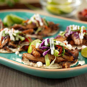Michoacan-Style Pork Carnitas With Green Apple Slaw