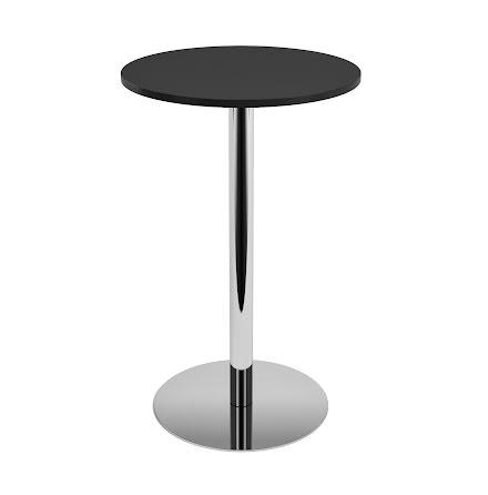 Ståbord 700 diam svart