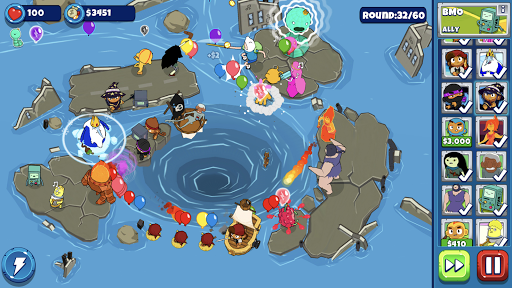 Bloons Adventure Time TD  άμαξα προς μίσθωση screenshots 2