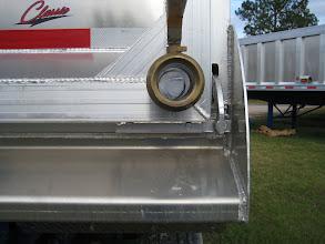 Photo: drain valve installed