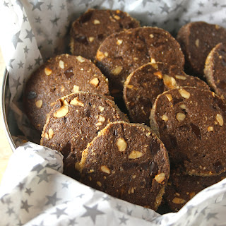 Chocolate Hazelnut Sables Recipe
