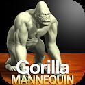 Gorilla Mannequin icon