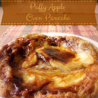 Puffy Apple Oven Pancake