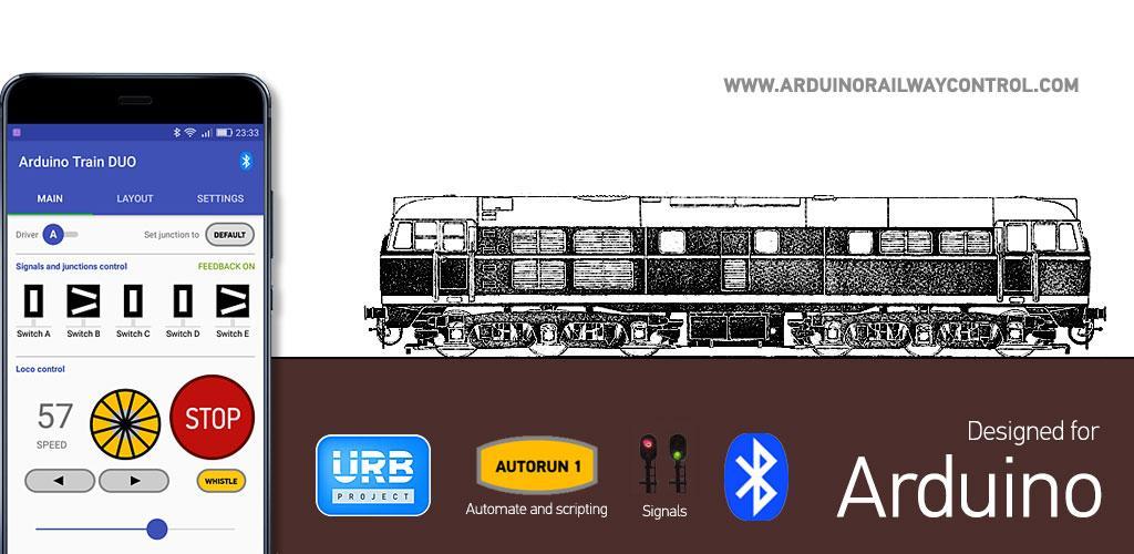 Arduino Train DUO 1 2 Apk Download - arduinorailwaycontrol