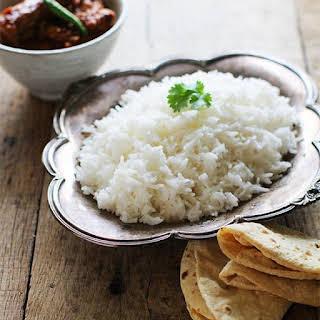 Plain Basmati Rice.