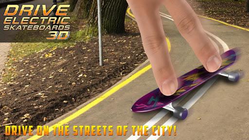 Drive Electric Skateboard 3DSimulator in City 1.0 screenshots 2