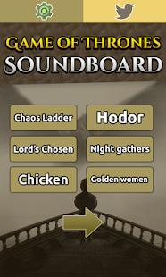 Game of Soundboard - náhled