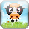 Happy Cow Tipper Slingshot icon