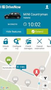 DriveNow Carsharing- screenshot thumbnail