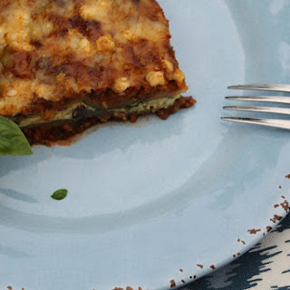 Mediterranean Eggplant & Zucchini Lasagne