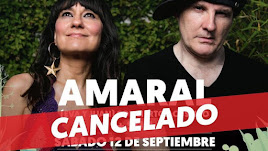 El concierto de Amaral es uno de los afectados por la cancelación del ciclo.