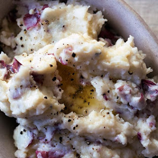 Black Pepper Mashed Potatoes