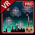VR Fireworks Cardboard 3D Pro icon