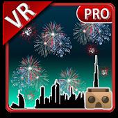 VR Fireworks Cardboard 3D Pro