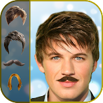 Man Hair Mustache Style New Icon