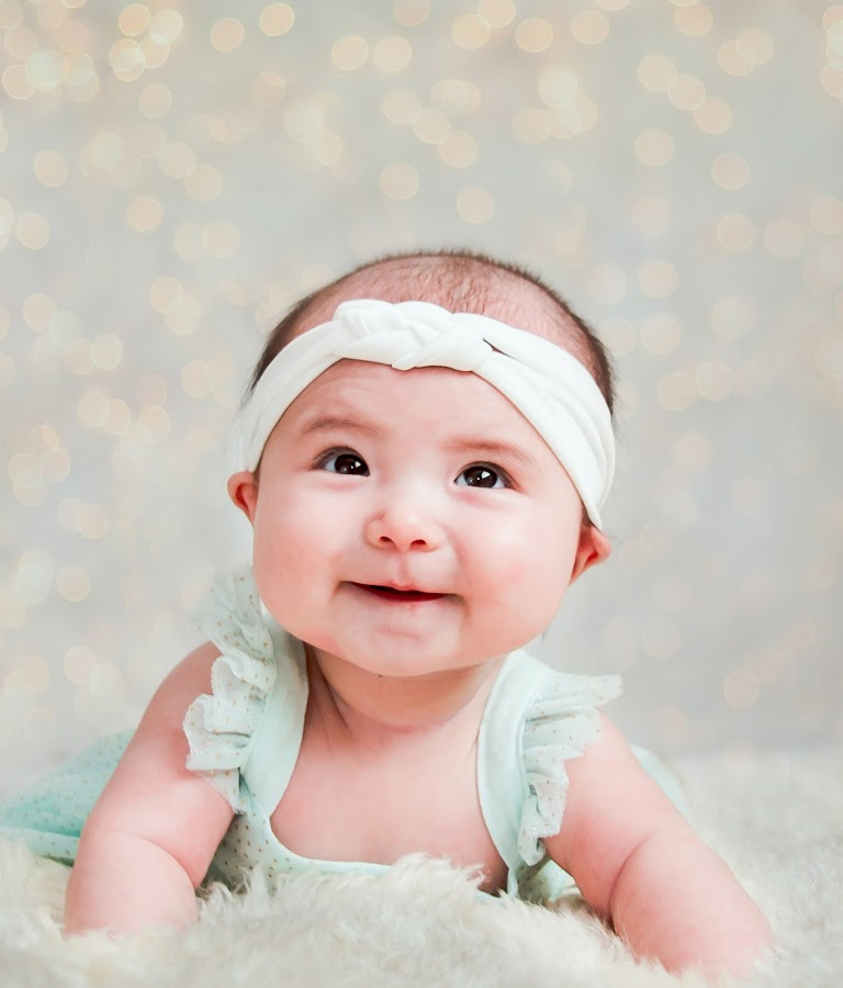 Smiley by Jenny Hammer - Babies & Children Babies ( baby, girl, sweet, cute, smile )
