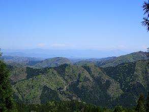 林道から琵琶湖方面