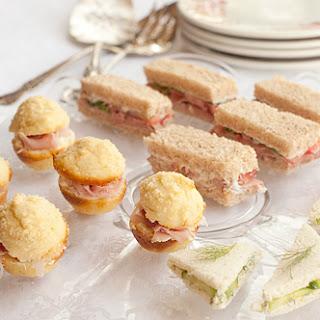 Tea Sandwiches – Three Ways.