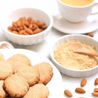 Gluten Free Almond Flour Ginger Snaps