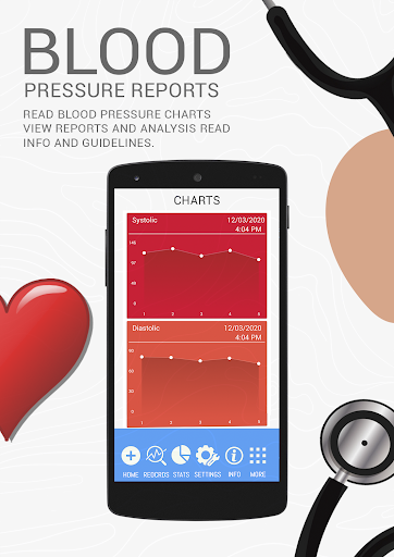 Blood Pressure BP History : Analyze Average Diary  screenshots 4