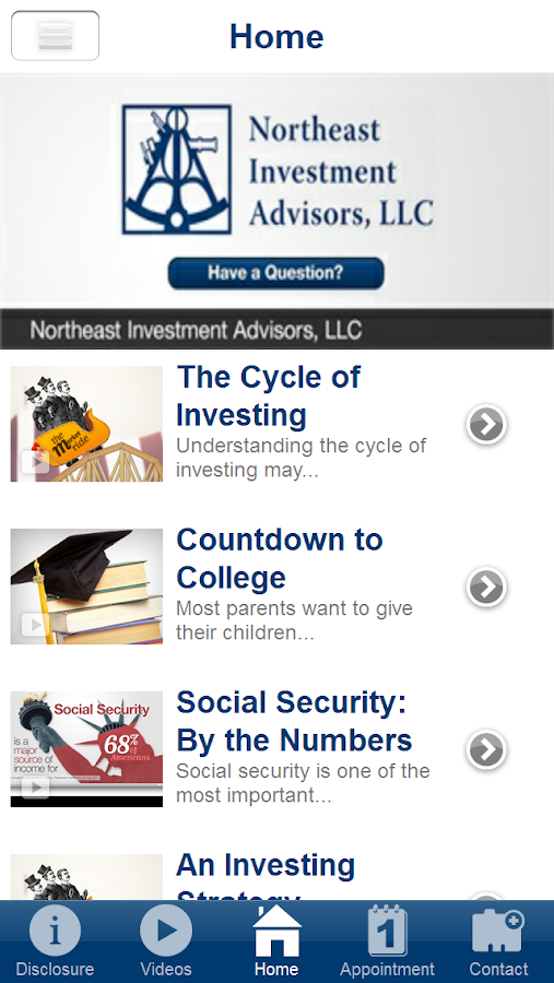 Northeast Investment Advisors- screenshot