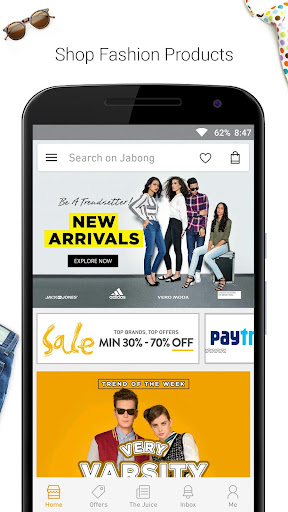 玩免費購物APP|下載Jabong-Online Fashion Shopping app不用錢|硬是要APP