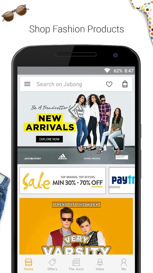 JABONG ONLINE SHOPPING APP- screenshot