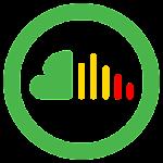 Free Music Cloud Icon