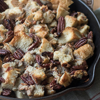 Sourdough Stuffing with Pecans, Sage and Pancetta