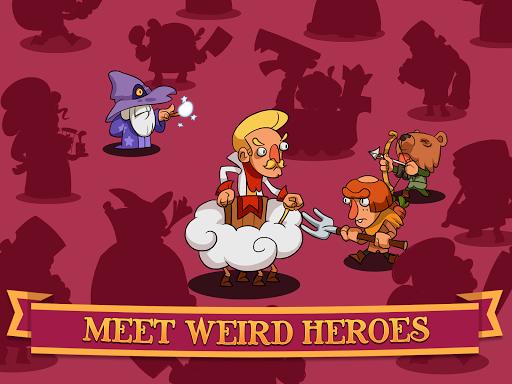 Semi Heroes: Idle & Clicker Adventure - RPG Tycoon  captures d'u00e9cran 9