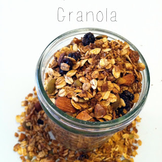 Easy Homemade Granola.