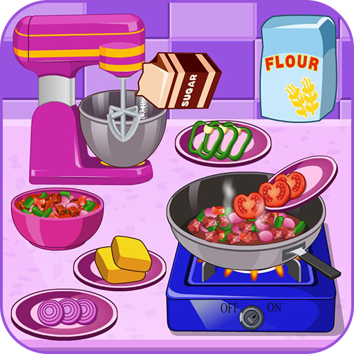Cooking Fresh Mexican Burritos (game)