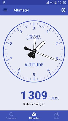Barometer & Altimeter screenshot 3