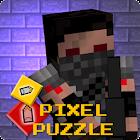 Pixel Puzzle - Gun Survival icon