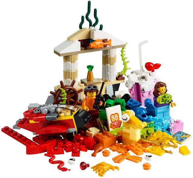 Contenido de Lego® 10403 Mundo Divertido