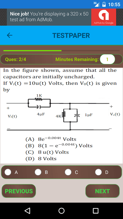 GATE ECE Mock Tests for 2018- screenshot