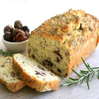 Low Carb Herb, Garlic & Olive Loaf Recipe