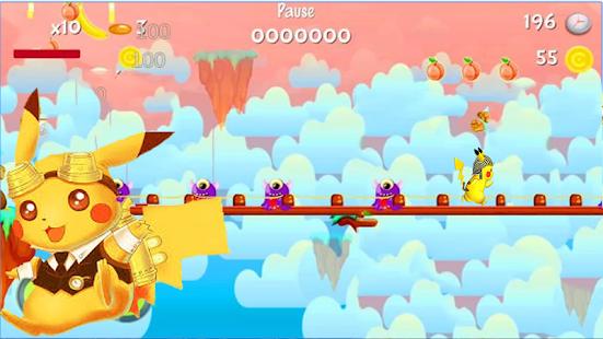 Super Pikachu Run Dash World! - náhled