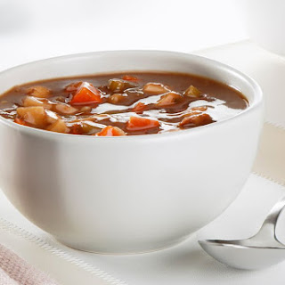 Old-Fashioned Vegetable Beef Soup.