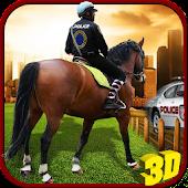 City Police Horse Training