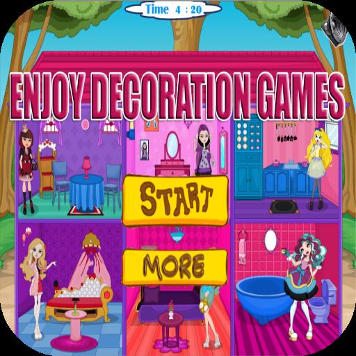 Doll House Decor Games