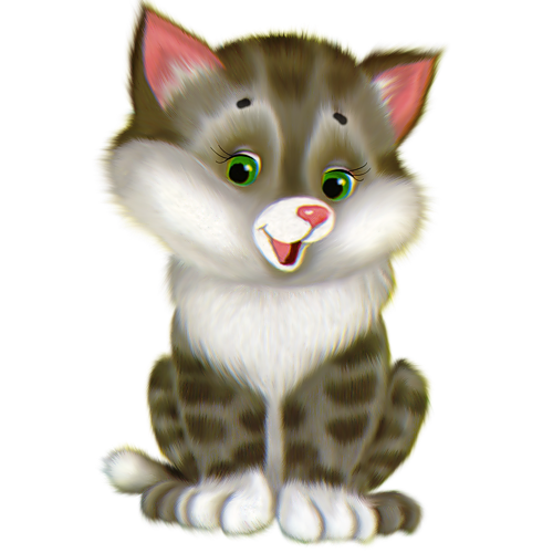 Cute Kitten Cartoon C86UFiAaEG0EKVbmWFJd
